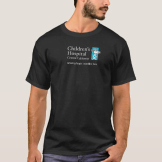 Corporate Logo - Teal on Dark Shirt