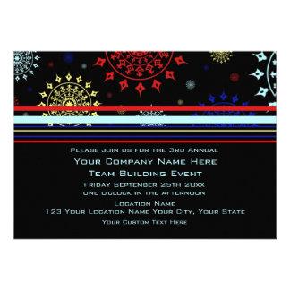 Corporate Team Building Event Invitations