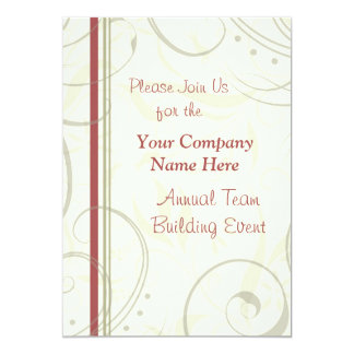 Corporate Team Building Event Weekend Invitations