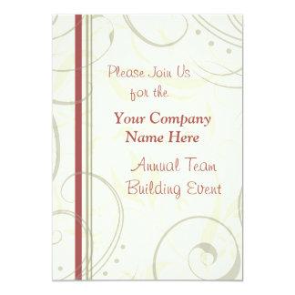 "Corporate Team Building Event Weekend Invitations 5"" X 7"" Invitation Card"