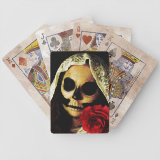 corps bride bicycle playing cards