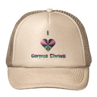 Corpus Christi -- Purple & Turquoise Trucker Hat