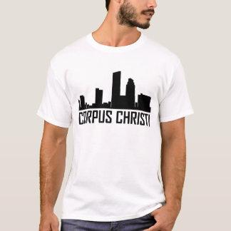 Corpus Christi Texas City Skyline T-Shirt