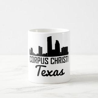 Corpus Christi Texas Skyline Coffee Mug