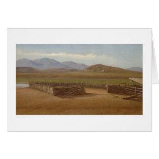 Corral, Rancho Santa Margarita (1162) Greeting Card