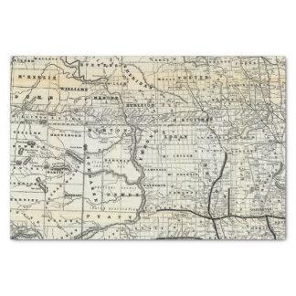 Correct map of Dakota Tissue Paper