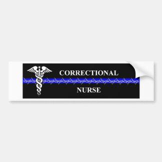 Correctional Nurse Bumper Sticker