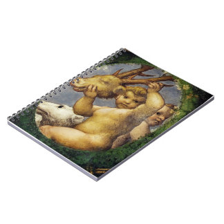 Correggio- Putto With Hunting Trophy Notebooks