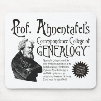 Correspondence College Of Genealogy Mousepad
