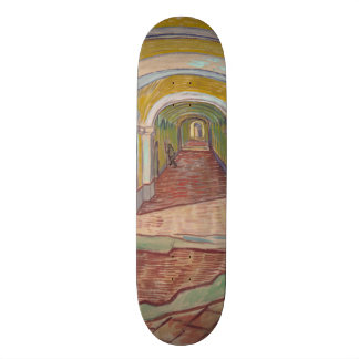 Corridor in the Asylum by Vincent Van Gogh 21.6 Cm Skateboard Deck