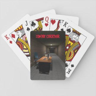Corridor Zombie Poker Deck