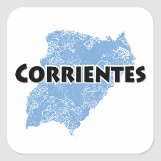 Corrientes Square Sticker
