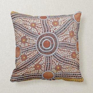 Corroboree at Daybreak Pillow Cushion