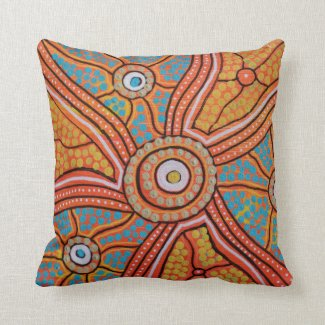 Corroboree Pillow Cushion