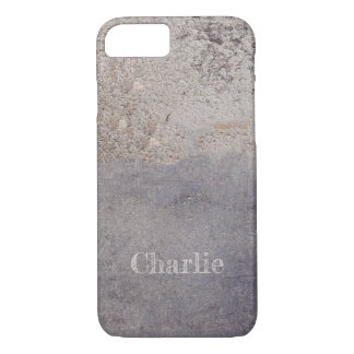 Corroded Metal Look custom name phone cases