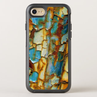 Corroded Rusty Blue Gold Rust Create Your Own OtterBox Symmetry iPhone 7 Case