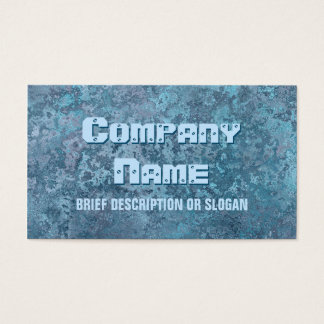 Corrosion blue print 'description'