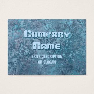 Corrosion blue print 'description' chubby