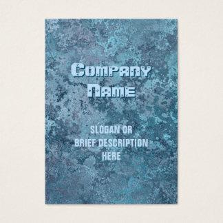 Corrosion blue print vertical chubby