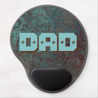 "Corrosion ""Copper"" DAD print gel mousepad"