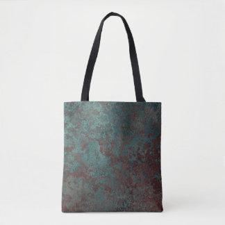 """Corrosion """"Copper"""" print all-over tote bag"""