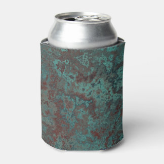 "Corrosion ""Copper"" print can cooler"