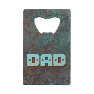 "Corrosion ""Copper"" print DAD bottle opener"