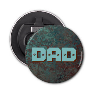 "Corrosion ""Copper"" print DAD bottle opener"