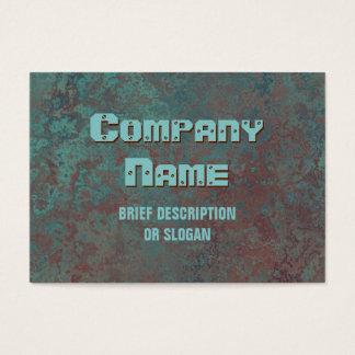 """Corrosion """"copper"""" print 'description' chubby"""