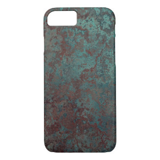 """Corrosion """"Copper"""" print iPhone 7 barely there iPhone 7 Case"""