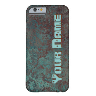 """Corrosion """"Copper"""" print 'Name' iPhone 6/6S Barely There iPhone 6 Case"""