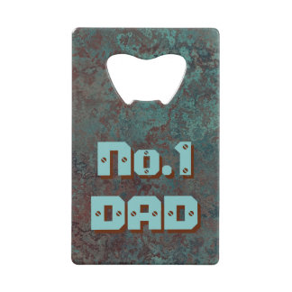 "Corrosion ""Copper"" print No.1 DAD bottle opener"