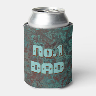 "Corrosion ""Copper"" print No.1 DAD can cooler"