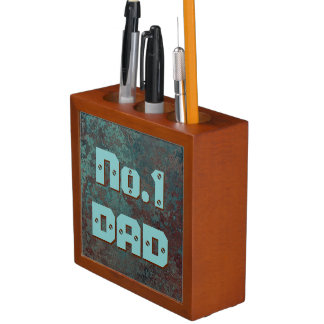 "Corrosion "" Copper"" print No.1 DAD desk organiser"