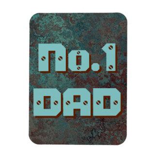 "Corrosion ""Copper"" print No.1 DAD flexible Magnet"