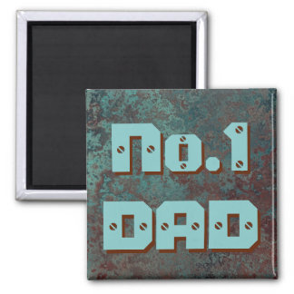 "Corrosion ""Copper"" print No.1 DAD fridge magnet"