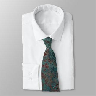 """Corrosion """"Copper"""" print tie"""