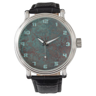 """Corrosion """"Copper"""" print watch numbers"""