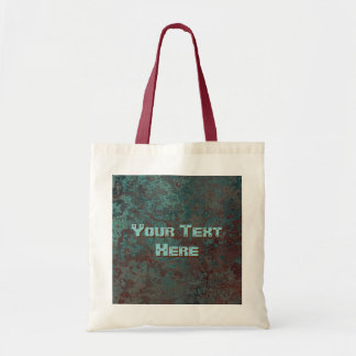 "Corrosion ""Copper"" Text budget tote bag"