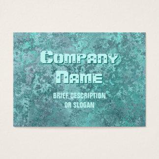 Corrosion green print 'description' chubby