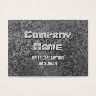 Corrosion grey print 'description' chubby