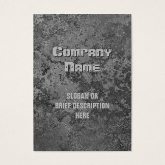 Corrosion grey print vertical chubby