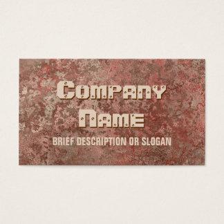 Corrosion red print 'description'