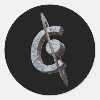 Corrosion Sticker