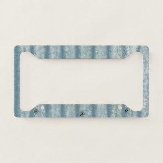 Corrugated Steele Look  - Number Plate Frame