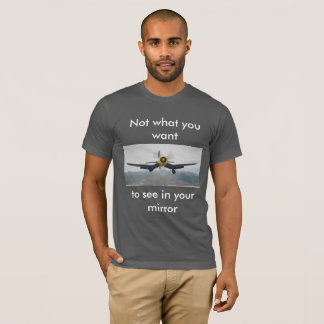 Corsair on the front- Fly Navy on the back T-Shirt
