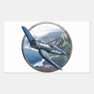 Corsair Rectangular Sticker