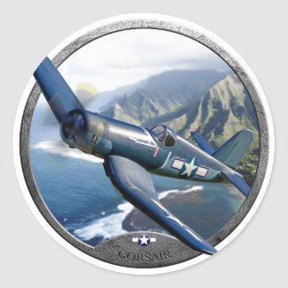 Corsair Round Sticker