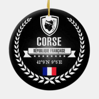Corse Ceramic Ornament