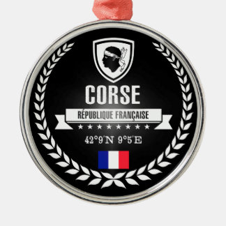 Corse Metal Ornament